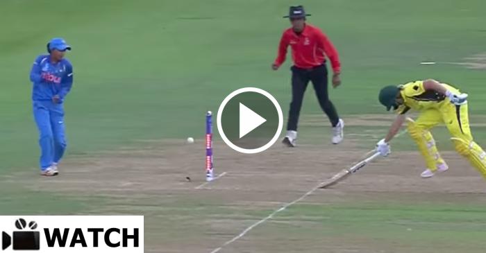 WATCH: Deepti Sharma's rocket throw to run-out Beth Mooney