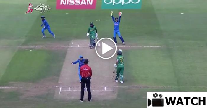 WATCH: Ekta Bisht picks a 5 wicket-haul against Pakistan in ICC Women's World Cup 2017