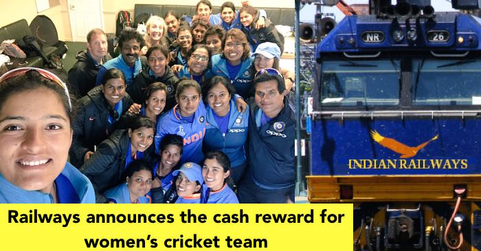 Railways felicitates the Indian women's cricket team for their outstanding performance in WWC17