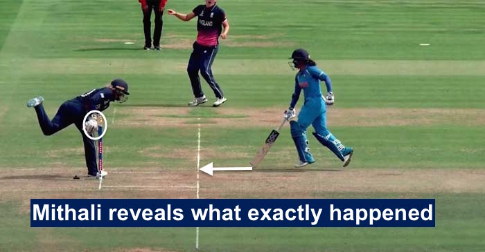 Mithali Raj opens up about her bizarre run out in the finals of WWC17