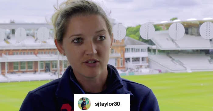 England's wicket-keeper Sarah Taylor reacts to her viral picture on the internet!