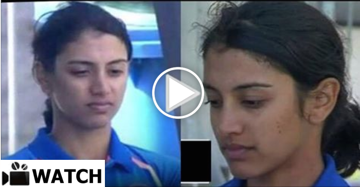 WATCH: Smriti Mandhana spotted with tears in the dug out