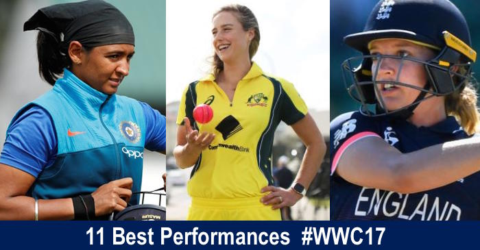 11 best performances from the ICC Women's World Cup 2017