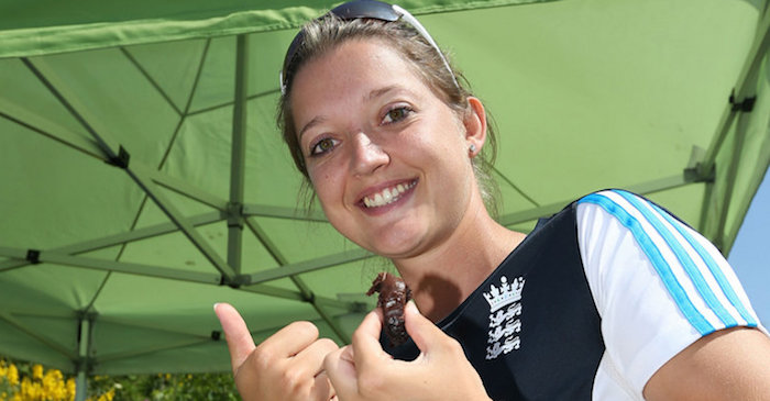 England's women wicket-keeper Sarah Taylor revealed her favorite players