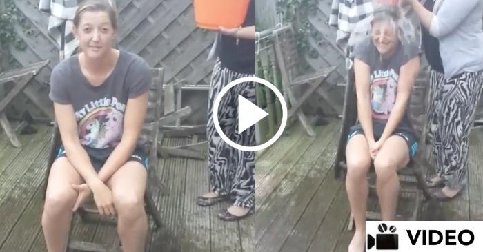 Sarah Taylor ICE Bucket Challenge