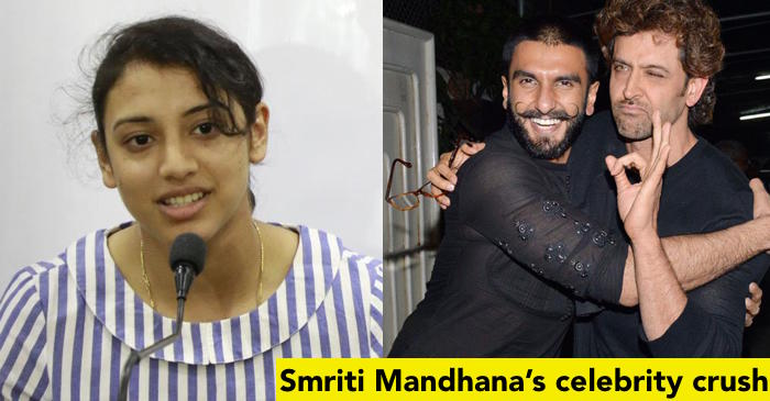 Smriti Mandhana reveals the Bollywood actor she would like to go on a date with