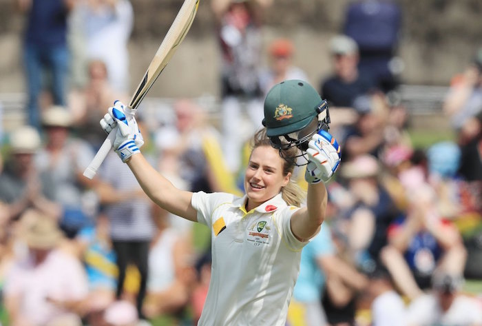 Ellyse Perry Test double century