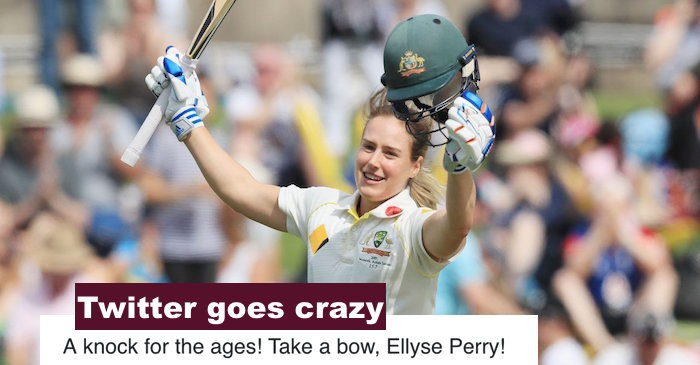 Ellyse Perry double century