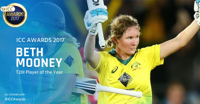 Beth Mooney ICC Awards 2017