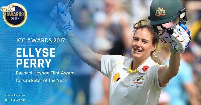 Ellyse Perry 2017 ICC Awards