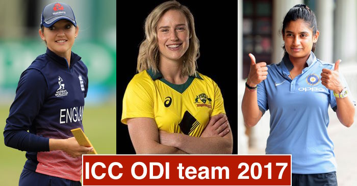 ICC announces Women's ODI team of the year 2017