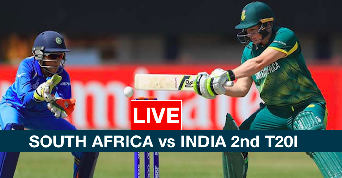 WATCH: South Africa vs India 2nd T20I (LIVE coverage)