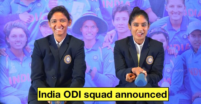 India's squad announced for ODI series against South Africa