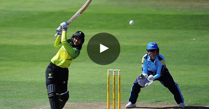 WATCH: Smriti Mandhana smashes 20-ball 48 in her KSL debut