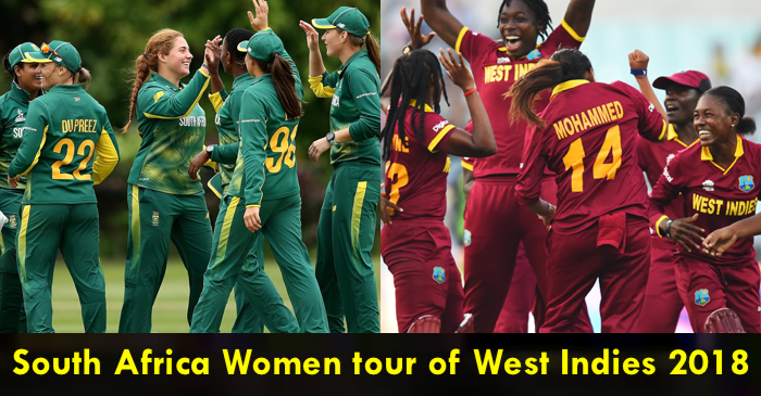 South Africa Women tour of West Indies 2018: Complete Schedule and Squad
