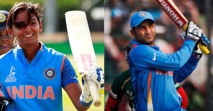 'It was my dream to become like him': Harmanpreet Kaur heaps praise for Virender Sehwag