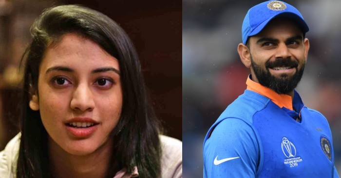 """I want to finish games like Virat Kohli does for men's team"": Smriti Mandhana"